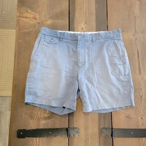 Frank & Oak The Valence Shorts blue size 32
